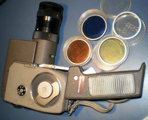 Filmadora 8 Mm A Corda Canon Zoom 8