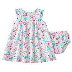 ed0727c5e Lindo Vestido Flores Ropa Bebe Niña 24 Meses Carter`s - $ 64.900 en ...