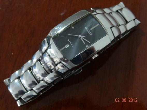 Relógio Guess Luxo Aço Usado I90119g2