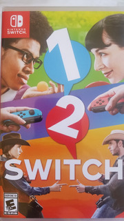 1-2 Switch Nintendo Switch Nuevo Sellado Delivery Stock Ya