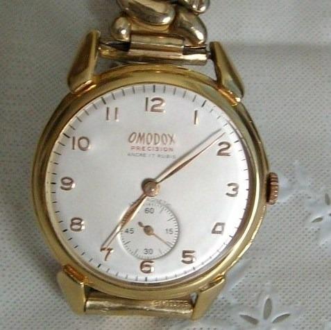 Relógio De Pulso Masculino Corda Omodox Precision 17 Rubis!
