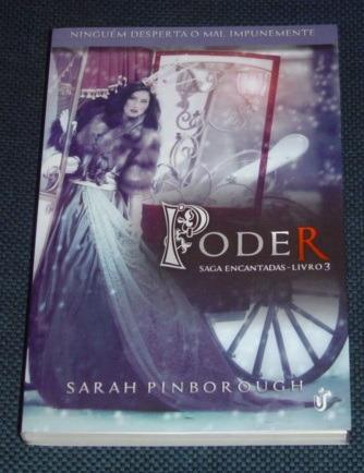 Poder Saga Encantadas Livro 3 Sarah Pinborough Livro Novo