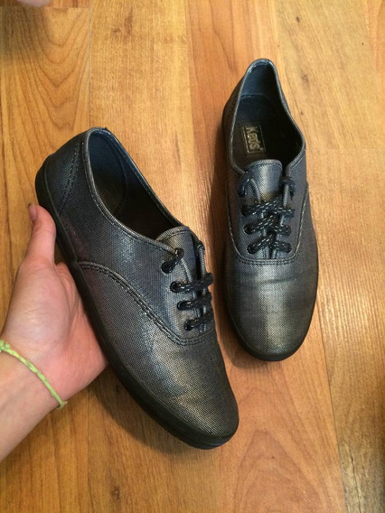 Zapatos Tenis Keds Silver Plate 23 Y Medio Edicion Especial!
