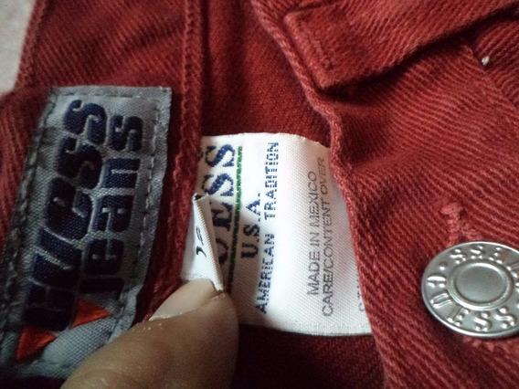Calça Guess Usa Feminina Sem Uso Veste 36 Favor Ler Medidas