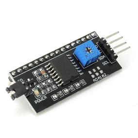 Módulo Serial I2c Display Lcd 16x2 20x4 + Código Arduino