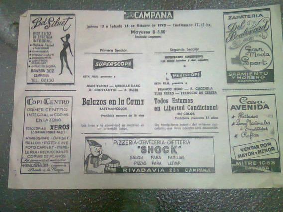 2 Publicidades Antiguas De 1972