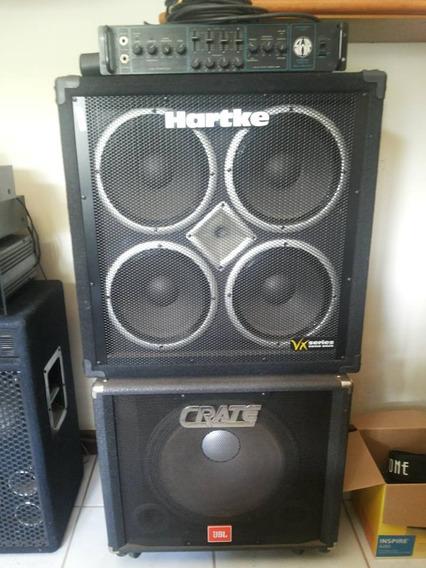 Amplificador Para Baixo Swr Studio 220 , Vintage!!