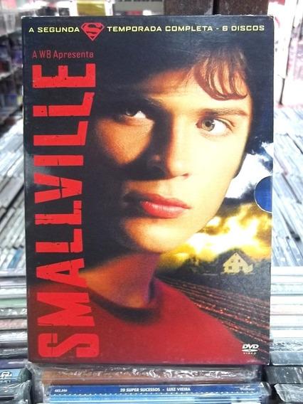 Smallville 2a. Temporada Box 6 Dvd´s Original Frete 15,00