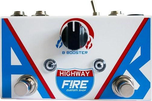 Pedal Guitarra Baixo Fire Ab Box Highway Booster 3 Anos 12 X