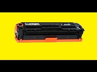 Toner Hp Ce320a Original Vacío 1er Uso 128a Negro Excel. Est