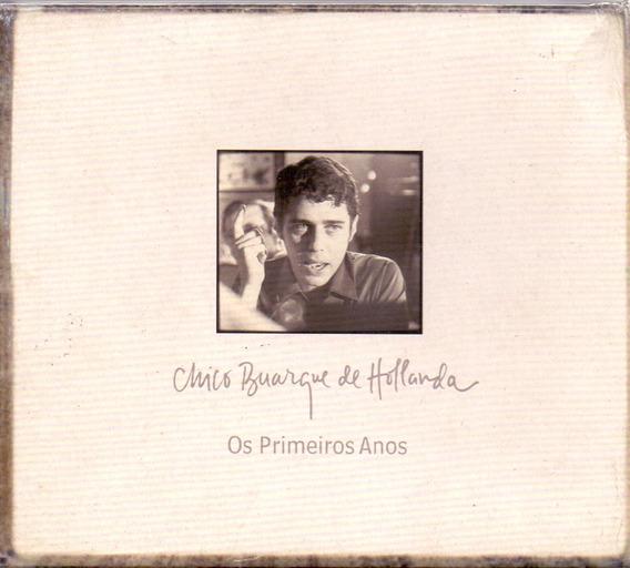 Box Chico Buarque De Hollanda - Os Primeiros Anos - Novo***