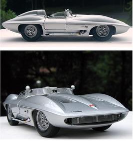 Miniatura Stingray 1959 Racer 1:18 Auto Art Millennium Model