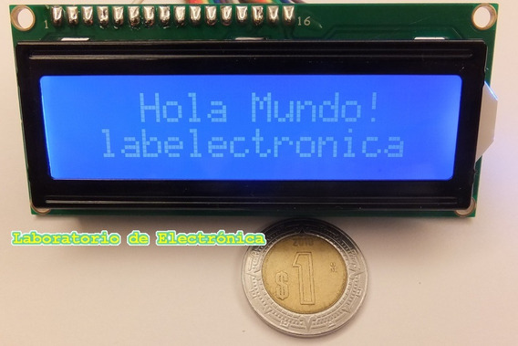 Paquete 5 Pantallas Lcd 16x2 Compatible Arduino, Pic,mcu