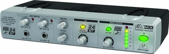 Karaoke Behringer Minimix Mix800 Ultra-compact Karaoke Fx