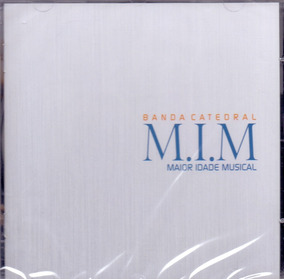 Cd Banda Catedral - Maior Idade Musical (acrílica) - Novo***