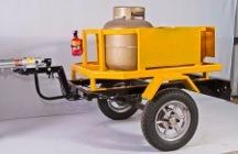 Semi Reboque Para Moto, 4 Gas, Carretinha Moto, Carrocinha