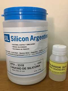 Caucho De Silicona Rtv 3318 X 1kg + Cataliz. Origen Francia