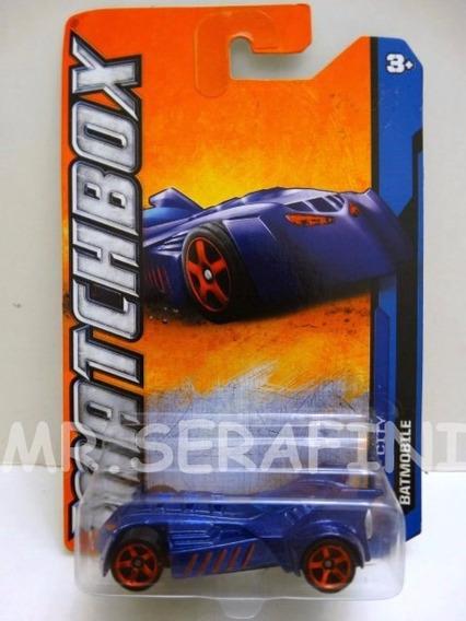 Matchbox Mattel Batmobile Escala 1/64 Nuevo En Blister