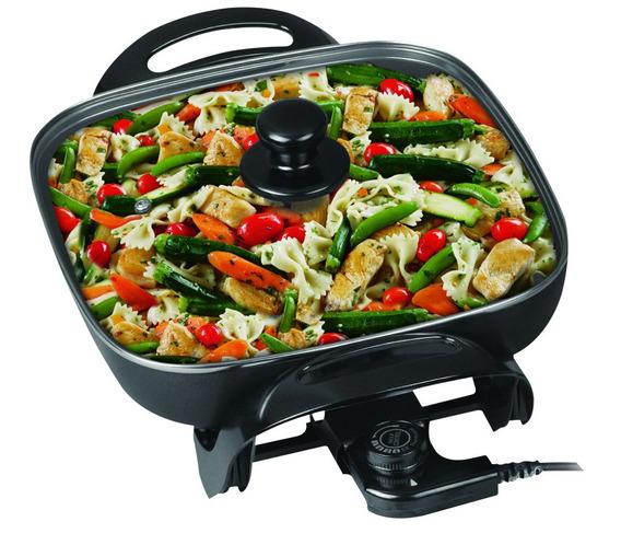 Multicocina Electrica Winco W-54 Pizzera-grill-paellera1500w