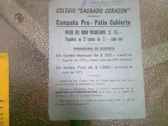 Rifas De Clubes Del Año 1973