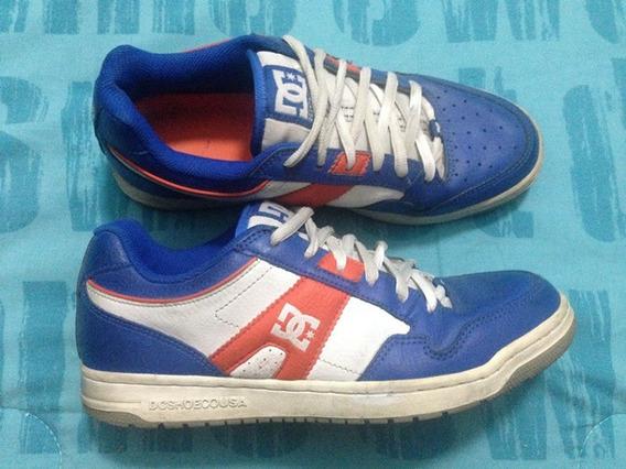 Tenis Dc Shoes Rey-naranja