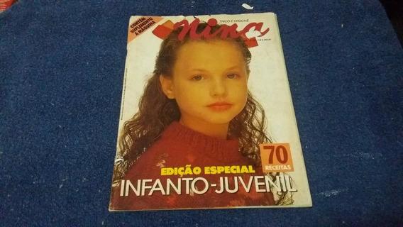 Revista Nina Infanto Juvenil Nº 56 - Maio 1992 C/70 Receitas