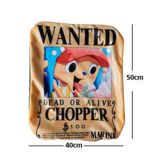Funda De Almohada One Piece Chopper Wanted Gran Precio
