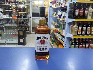 Whisky Jim Beam White Bourbon 1l Mega Promoçao