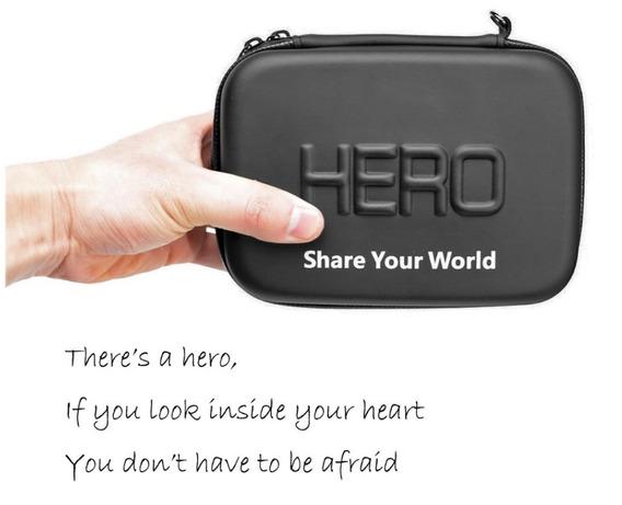 Acessórios Gopro - Case Proteção Impermeável Hero 6 5 4 3+ 3