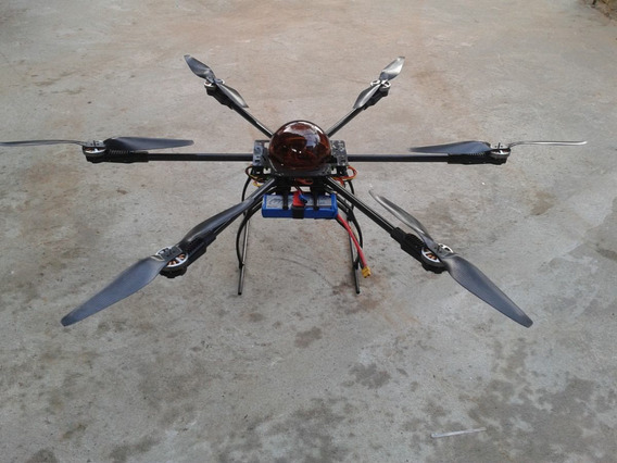Drone Hexacoptero X800 Carbono Filmagem