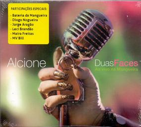 Cd Alcione - Duas Faces Ao Vivo Na Mangueira - Novo***