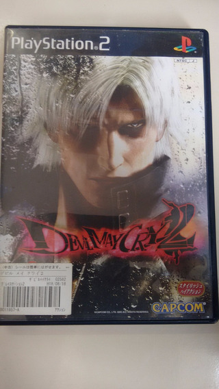 Jogo Ps2 Original Devil May Cry 2 2cds