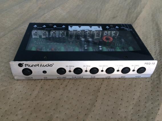 Ecualizador Planet Audio