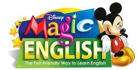 Inglês Para Crianças - Magic English Em Vhs + Revistas