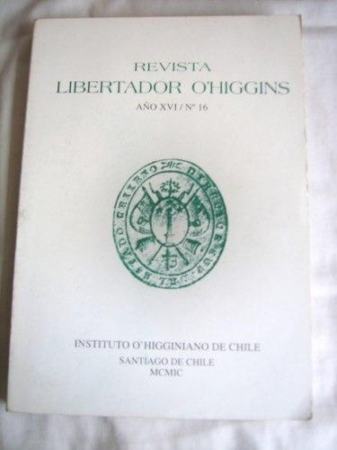 Revista Libertador O'higgins, Nº 16  Instituto O'higginiano