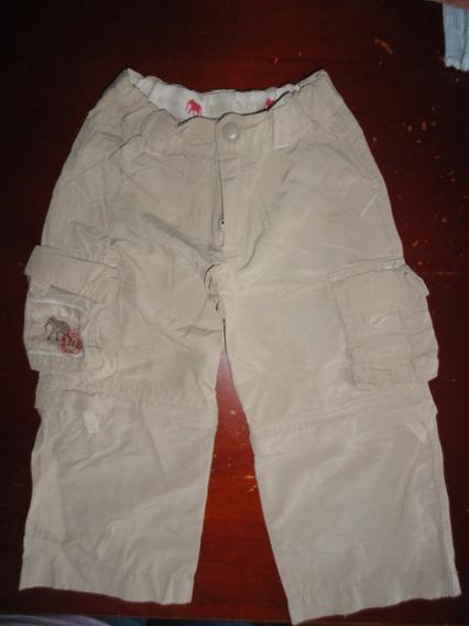 Pantalon Mimo T, 2 Beige Se Hace Bermuda