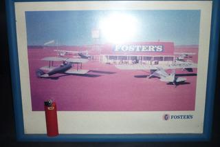 Cartel Publicidad De Cerveza Foster - Cuadro - Decoración