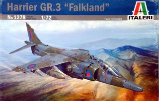 Harrier Gr 3 Falkland Malvinas 1982 1/72 Italeri No 1278