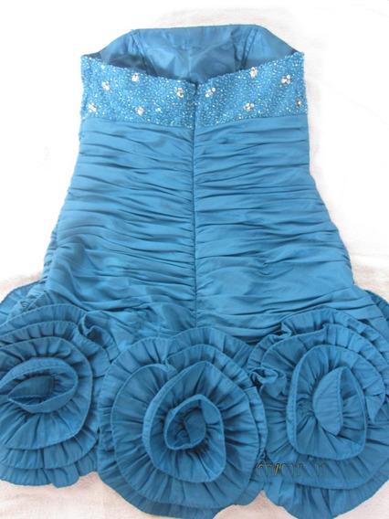 Vestido Elegante Oferta Corto Con Bufanda