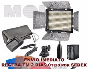 Iluminador Yn-300 Pro Led Bateria Carregador Promoção