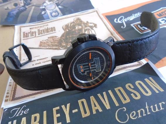 Harley Davidson Bulova Original Nota Fiscal Garantia
