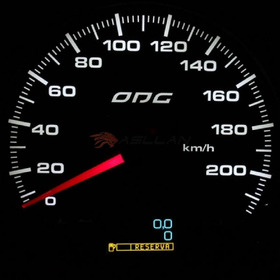 Velocímetro Evolution Full Color 220km/h 100 Mm - Cód.2355