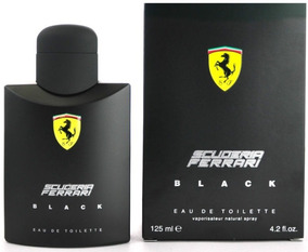 Perfume Ferrari Black 125ml 100% Original Made In Italy Nf