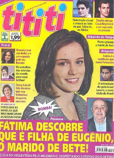 Bianca Bin: Capa + Matéria Da Tititi De 01 Outubro 2010
