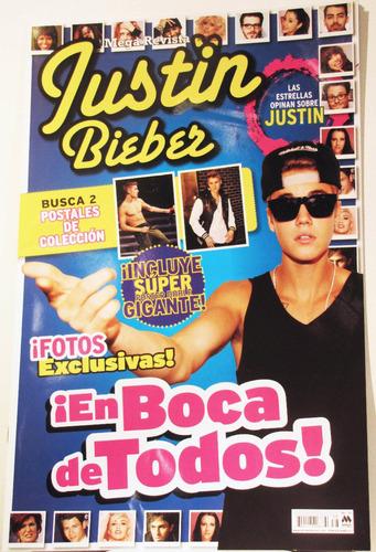 Justin Bieber Mega Revista / Abril 2014/