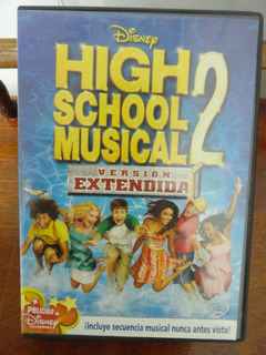 High School Musical 2: Versión Extendida Disney Dvd Original