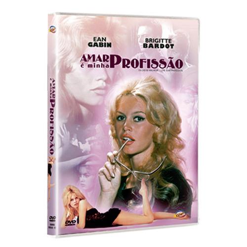 Imagem 1 de 3 de Dvd Amar É Minha Profissão - Gabin, Brigitte Bardot Lacrado#