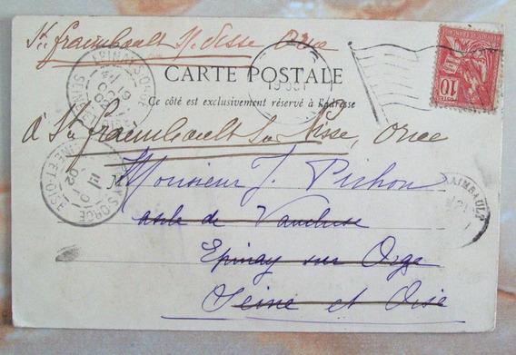 Francia - Postal Antigua B&n 1902 Sena Yv. 116 L3035
