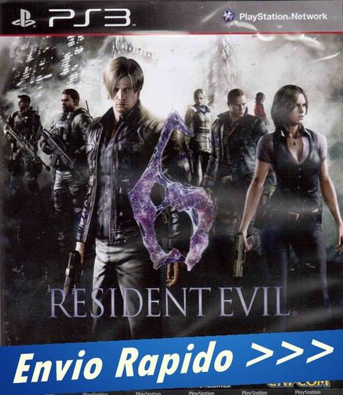 Resident Evil 6 - Ps3 - Psn Promoção Envio Rapido