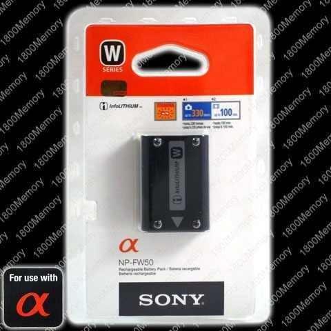 Bateria Original Sony Np-fw50 A55 A35 A33 Nex-7 Nex-5 Nex-3